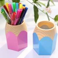 BF015 Colorful Originality pen holder pen container brush pot  pencil holder high quality 10.5*9*8cm