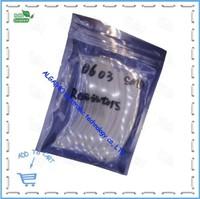 0603 SMD Resistors 10R-910 1% 1/16W,80valuesX25pcs=2000pcs, 0603 SMD Resistors Assorted Kit, Sample bag