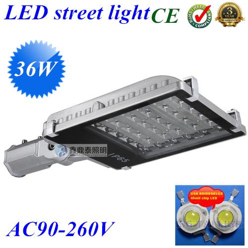 36W led street light led road light LED outdoor lighting AC85V-265V IP65 36w led street lamp(China (Mainland))