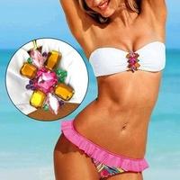New Arrival!Women bikini Swimwear hot victoria Brand push up drop Shipping Good Quality High Quality Diamond Swimsuit A15278