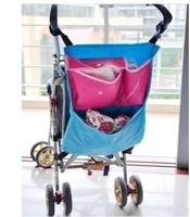 convenient multifunctional Baby Item Bag Pram hanging bags baby stroller bag nappy bag Dual-use free shipping