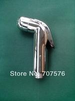 10pcs/lot Mirror Chrome Dipper Sprayer Head Good Quality Toilet Portable Mini Shower Women Handheld Shattaf  TS127