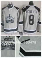 Cheap stitched 2014 NHL LA/Los Angeles Kings #8 Drew Doughty  stadium series ice hockey jersey/shirt/sportswear