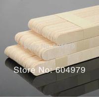 100pcs per lot  about 150*15mm Wood Spatulas Bikini Eyebrow Waxing SPA Applicator Wax Stick