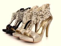 Женские ботинки , Bottes sapatos P0034