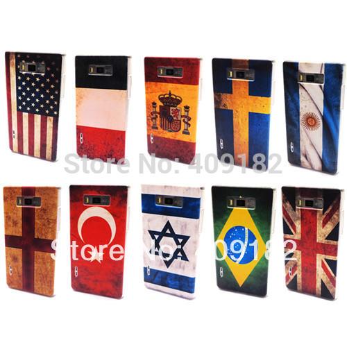 Старинные ретро уф-покрытие национальный флаг чехол для LG Optimus L7 P705 P700