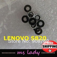 New original Rear Camera Glass For For Lenovo S820 Cell phone Free shipping with tracking Code