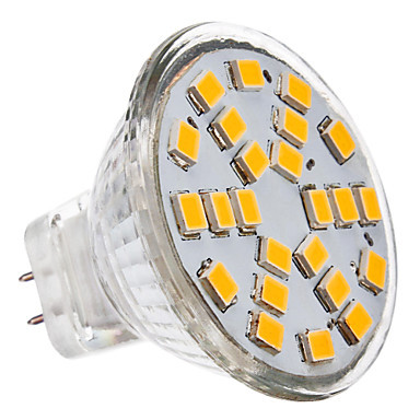 MR11 3W 24x2835SMD 230LM 2700K Warm White Light LED Spot Bulb (12V)(China (Mainland))