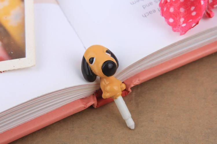 #8 dog New Arrival 10pcs/lot Free shipping 3.5mm cute shook head Dustproof plug For iPhone iPAD samsung htc plug Dust Plug(China (Mainland))
