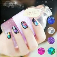 2014 nail stickers Harajuku Colorful Variety Star Universe Laser metallic nail stickers nail stickers wholesale free shipping