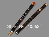 1PCS Professional Dizi Key D Bamboo Flute  Chinese Knot + Dimo + Cleaning Cloth S189