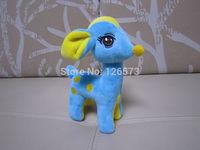17cm blue giraffe green deer  child present birthday present  free shipping