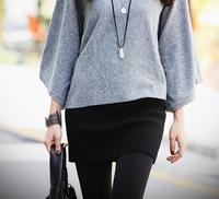 Free shipping! Winter Korean Women Knit | skirts | wool mini skirt package hip