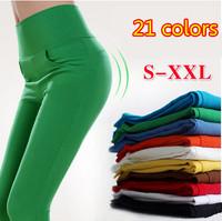 21 Colors 2014 New Plus Size Women's Denim Skinny Jeans Fahion Women Overalls Elastic Pencil Pants Fit Lady Pencil Pants S-XXL