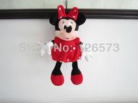 30cm plush minnie mouse plush minnie kids toy kids present  2 pieces free shipping
