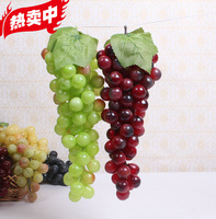 Artificial grape grapes indoor decoration photography props toy decoration