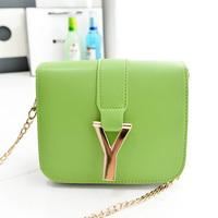 2014 women's handbag candy color bags vintage shoulder bag female small messenger bag