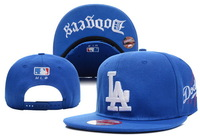Free shipping Active blue MLB Los Angeles Dodgers  Snapback,men and ladies sun hats,Raised Embroidery Letter on Front Middle.