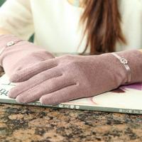 Summer sun protection glove women sleeve  card cool air later drive cotton later  summer gloves mittens HBA05