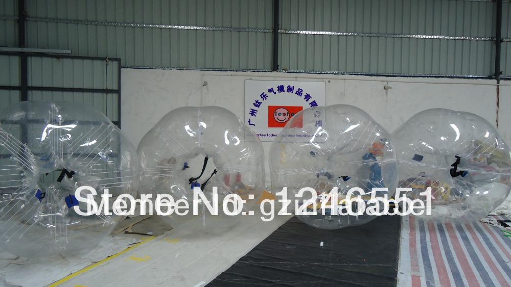 NEW TH-008 PVC 1.8m bumper body,bubble bumper,big soccer ball Drop Shipping(China (Mainland))