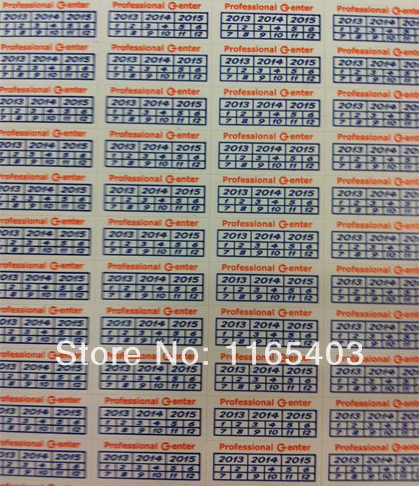 Versandkostenfrei fragilen aufkleber Garantiekarte Träne ist ungültig Produktkennzeichnung 2000pcs/lot 1.8*0.6cm,