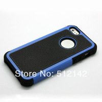 High Quality Shock Proof Combo Hard Back Silicone Case Football lines Cover For iPhone 5S iPhone5 , 100 pcs/lot