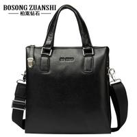 Fashion bag 2014 genuine leather man bag commercial male messenger bag handbag shoulder bag