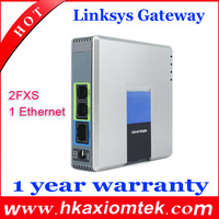 Wholesale 5pcs/lot Unlocked Linksys PAP2T-NA/PAP2t SIP VOIP Phone Adapter with 2 FXS phone ports Same fuction as PAP2