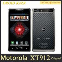 Motorola RAZR XT912 Cell Phone 4.3 QHD Android OS 1GB RAM 16GB ROM Camera 8MP 3G 4G Original Unlocked Refurbished Support Arabic