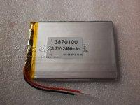 3.7v polymer battery 2500mah mid tablet laptop ultra-thin 3870100  new 2014 free shipping