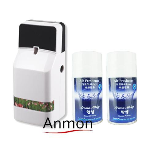 Anmon miscroprocessor fully-automatic aerosol dispenser perfume spray odorator fresh agent(China (Mainland))
