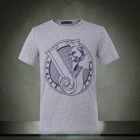 2014 new 100% brand contton men t-shirts t shirt printed fashion short sleeve t-shirt Accept customized Free shipping
