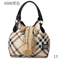 2014 women's handbag fashion check fashion bags one shoulder handbag