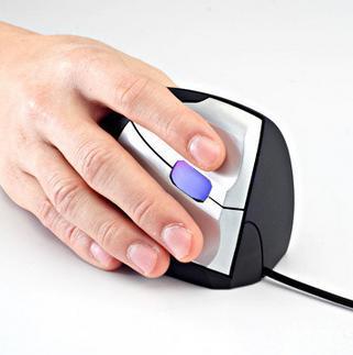 Retail 2015 new vertical mouse Ergonomic Design mice optical health care for Alleviate Wrist Fatigue mouse1pcs free shippment(China (Mainland))