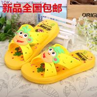 Summer child slippers slip-resistant male female child at home bathroom child slippers