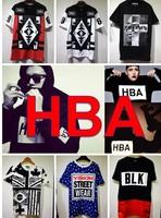 Cat soon 2014yeezus hba series o-neck loose short-sleeve T-shirt hot-selling 100% cotton