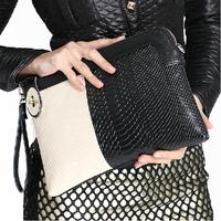Free Shipping ! New 2014 fashion lady handbags women croco Day Clutches Snake Pattern bags women handbag Alligator Pattern TM-68