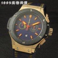 Steel belt Japanese quartz timing man watches (much money) H58. K6