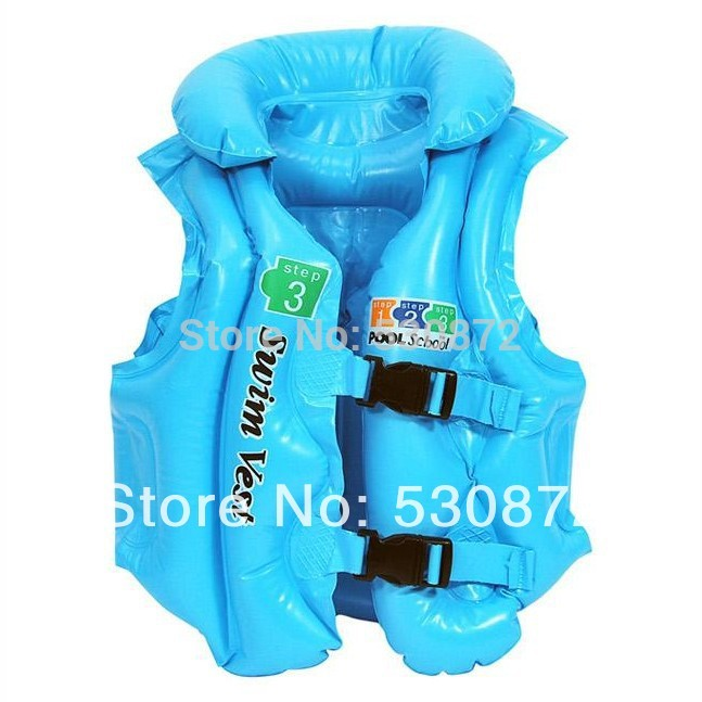 2014 New Summer Swimming life vest Children's inflatable swimming vest / bathing suit / life jacket - trumpet free shipping(China (Mainland))