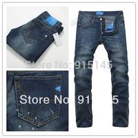 Men's fashion classic blue jeans,hot sale jeans for men ,big size 28-40 ,9137