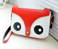 Wholesale !! Z&C Fashion fox cartoon shoulder bag women personalized messenger bags