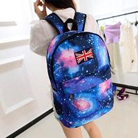 2014 Hot fashion Galaxy backpack Women backpack school bags for girls drop shipping