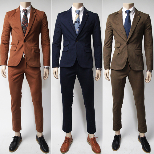 Wholesale-Hot!Wholesale New 2015 Mens Business Suit Set Suits   ...