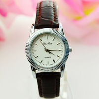 Waterproof women's quartz strap table simple casual lady 2035 movement