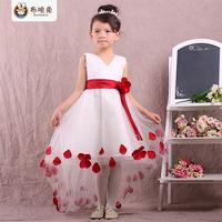 Female princess dress child costume child princess dress wedding dress flower girl formal dress female party evening