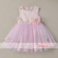 2014 female child spring children's clothing child princess dress tulle dress party evening Dress flower girl formal dress