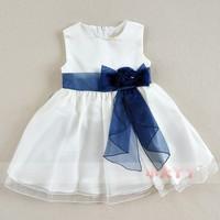 Summer beautiful belt female child party evening Dress summer tank dress child princess dress flower girl formal dress