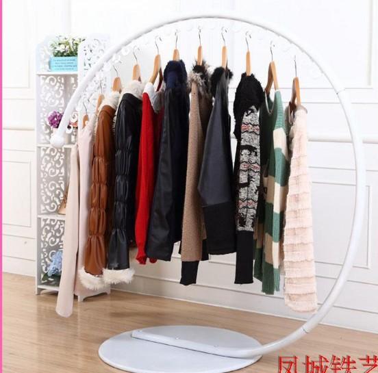 Hangers wrought iron clothes rack font b clothing b font font b store