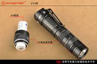 Sunwayman v11r cree xm-l led flashlight u2  1* 16340 battery