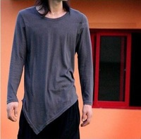 2014 HOT plus size male O neck fashion batwing personality punk  style t-shirt, men's clothing, free shipping